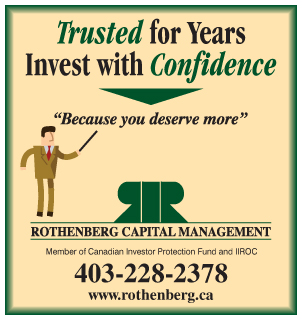 Rothenberg Capital Management INVEST WITH CONFIDENCE