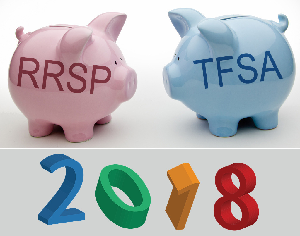 TFSA and RRSP new Contribution Amounts